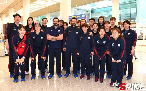 [포토화보] 발리볼네이션스리그(VNL) 한국 여자배구대표팀 입국