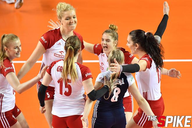 [포토화보] 2019 VNL 폴란드, 일본에 3-1로 승리