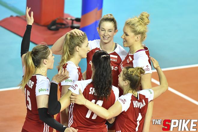 [포토화보] 2019 VNL 폴란드, 도미니카공화국에 3-2 승리