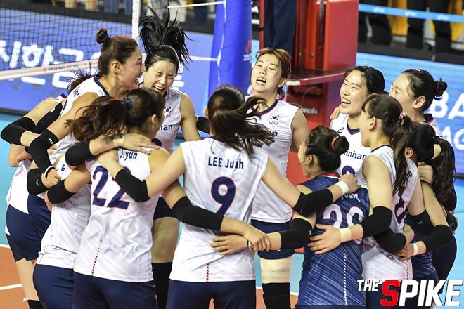 [포토화보] 2019 VNL 한국, 일본에 3-0으로 대승