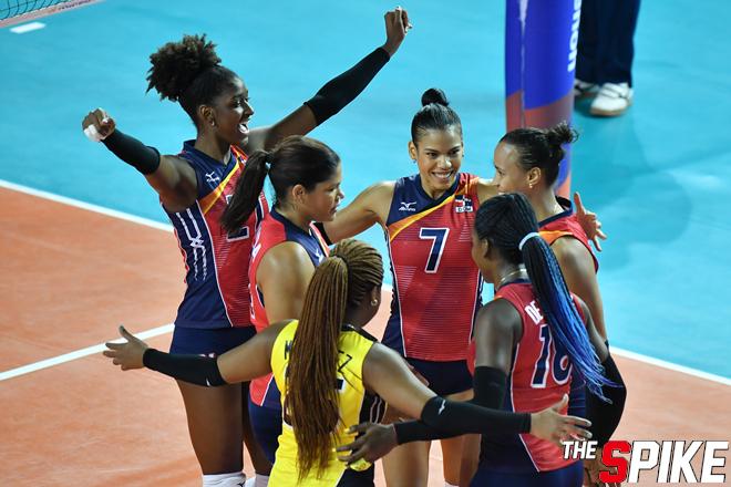 [포토화보] 2019 VNL 도미니카공화국, 일본에 3-2으로 승리