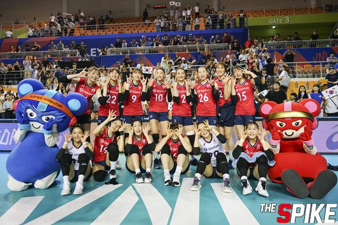 [포토화보] 2019 VNL 한국, 폴란드에 3-1로 승리로 VNL 마무리
