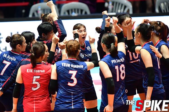 [포토화보] '아시아여자배구선수권' 한국과 홍콩 경기 화보 (한국, 홍콩에 3대 0 승리)