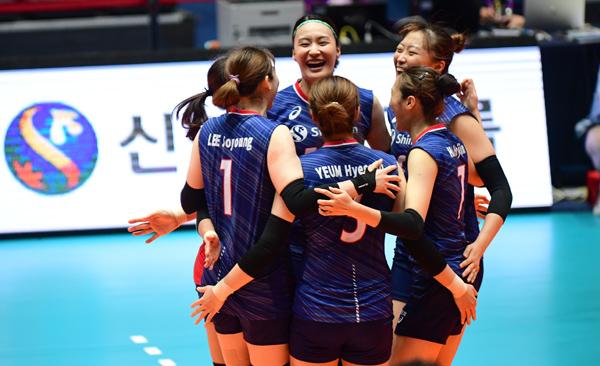 [亞선수권] 한-중-일, 나란히 2연승 거두며 아시아선수권 순항
