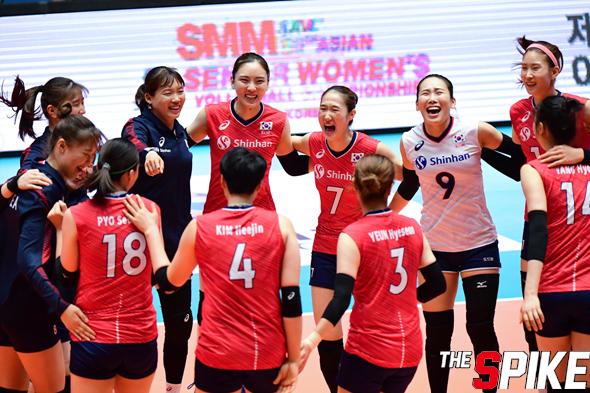 [포토화보] '아시아여자배구선수권' 대한민국과 태국 경기 화보  (대한민국,태국에 3대 1 승리)