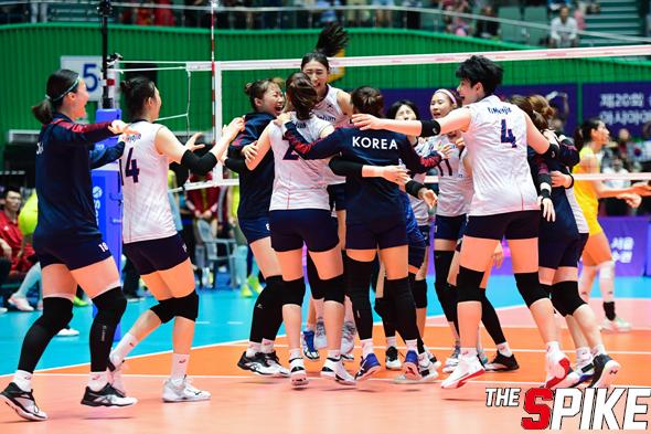 [포토화보] '아시아여자배구선수권' 대한민국과 중국 경기 화보 (대한민국 3-0 중국)
