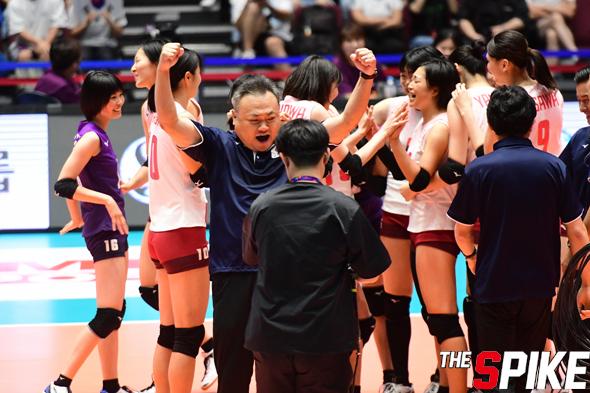 [포토화보] '아시아여자배구선수권' 일본과 태국 결승전 경기 화보 (일본 3-1 태국)
