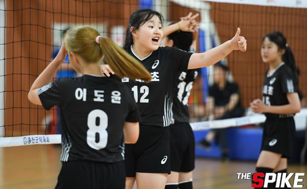 [포토화보] 2019 홍천 전국 유소년 클럽 배구대회, 초등 고학년 여자 경기화보