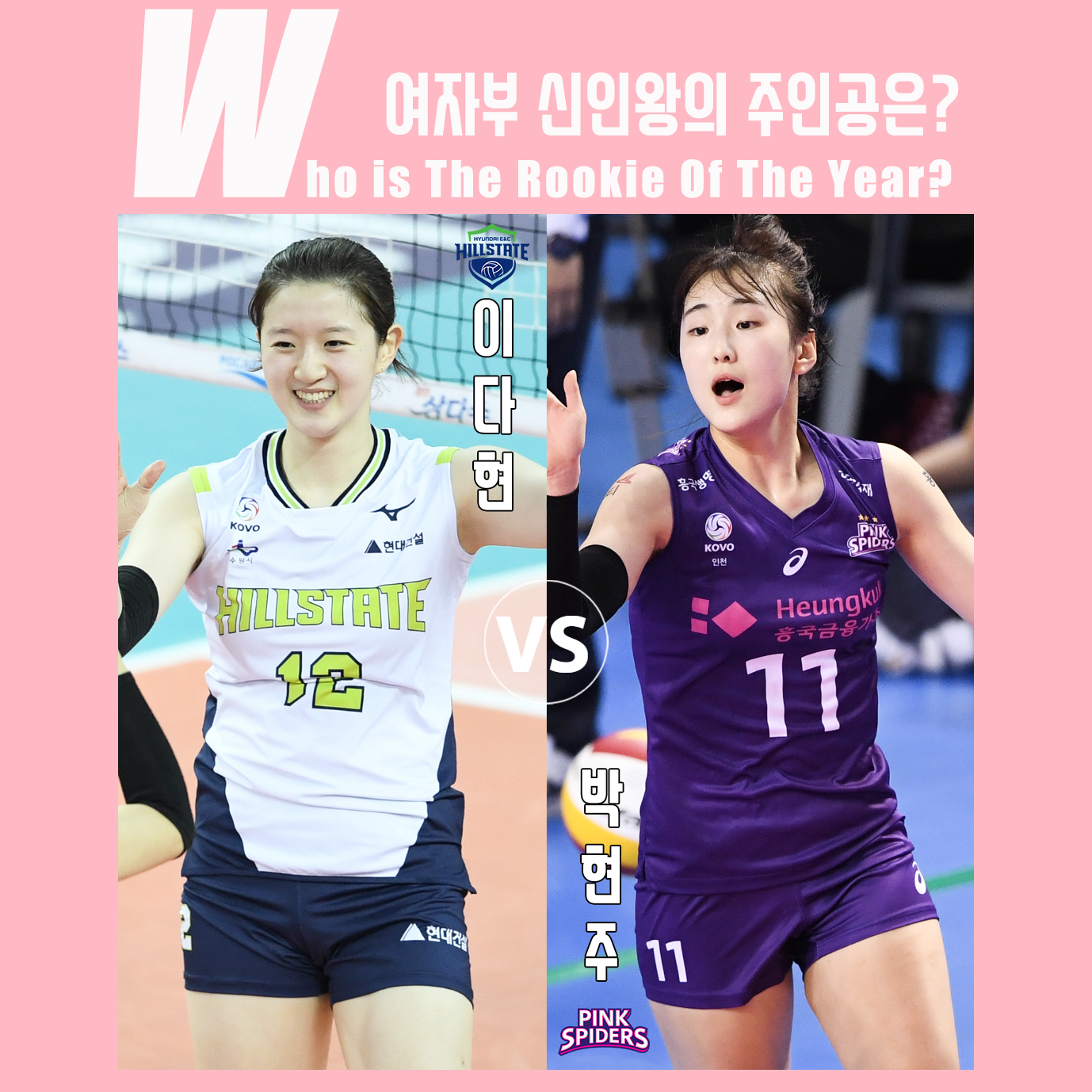 도드람 2019~2020 V-리그 여자부 신인왕 경쟁