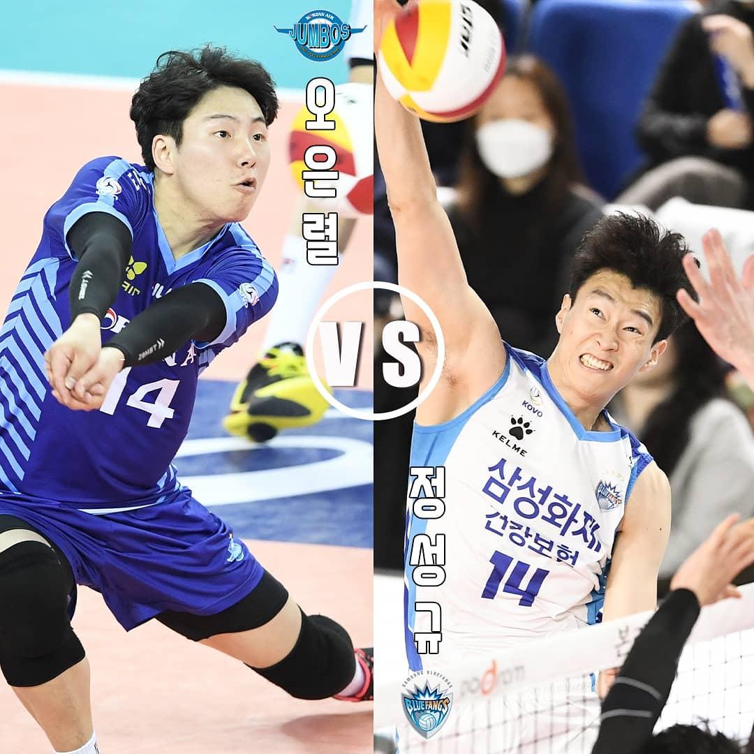 도드람 2019~2020 V-리그 남자부 신인왕 경쟁